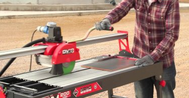 table top wet saw tile cutter
